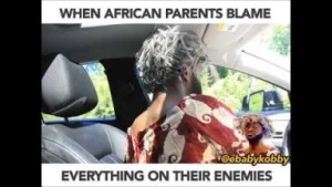 Video: Ebaby Kobby – When African Parents Blame Everything on Their Enemies